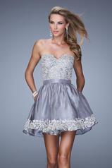 21306 La Femme Short Dresses