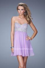 21332 La Femme Short Dresses