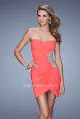 21344 La Femme Short Dresses