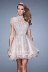 21530 La Femme Short Dresses