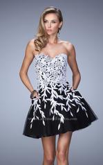 21798 La Femme Short Dresses