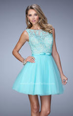 21835 La Femme Short Dresses