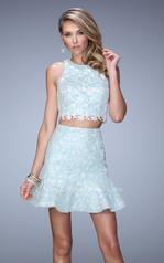 21873 La Femme Short Dresses