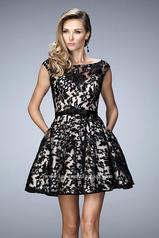 21876 La Femme Short Dresses