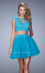 21878 La Femme Short Dresses