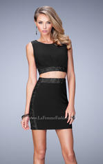 21935 La Femme Short Dresses