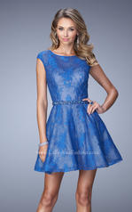 21949 La Femme Short Dresses