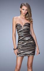 21987 La Femme Short Dresses
