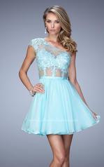 21992 La Femme Short Dresses