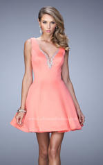 22009 La Femme Short Dresses
