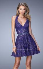 22011 La Femme Short Dresses