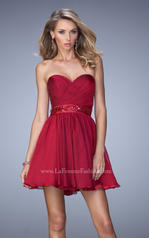 22015 La Femme Short Dresses