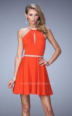 22016 La Femme Short Dresses