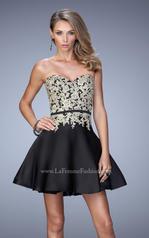 22017 La Femme Short Dresses