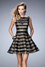 22018 La Femme Short Dresses