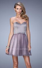 22022 La Femme Short Dresses