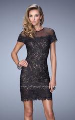 22044 La Femme Short Dresses