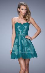 22046 La Femme Short Dresses