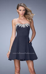 22101 La Femme Short Dresses