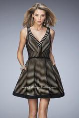 22193 La Femme Short Dresses