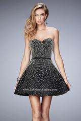 22485 La Femme Short Dresses