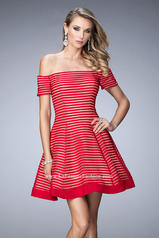 22621 La Femme Short Dresses