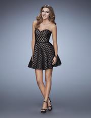 23392 La Femme Short Dresses