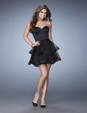 23398 La Femme Short Dresses