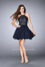 23483 La Femme Short Dress