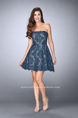 23495 La Femme Short Dress