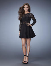 23501 La Femme Short Dresses