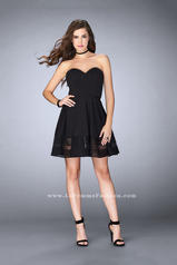 23593 La Femme Short Dress