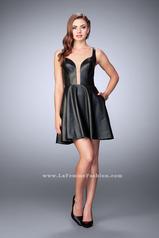 23875 La Femme Short Dress
