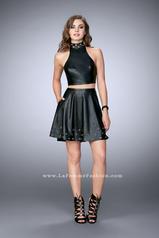 24026 La Femme Short Dress