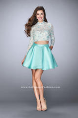 24107 La Femme Short Dress