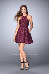 24283 La Femme Short Dress