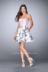24506 La Femme Short Dress