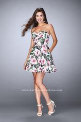 24523 La Femme Short Dress