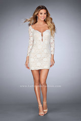 25038 La Femme Short Dress