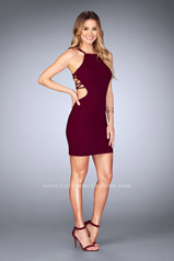 25058 La Femme Short Dress