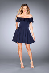 25070 La Femme Short Dress