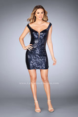 25085 La Femme Short Dress
