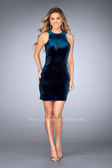 25091 La Femme Short Dress