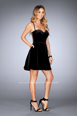 25108 La Femme Short Dress