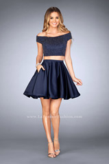 25120 La Femme Short Dress
