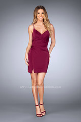 25127 La Femme Short Dress