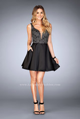 25132 La Femme Short Dress