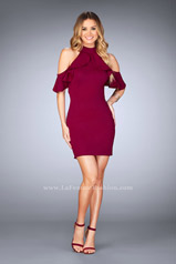 25147 La Femme Short Dress