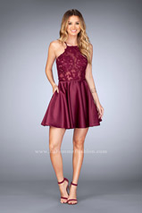 25202 La Femme Short Dress