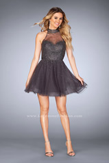 25293 La Femme Short Dress
